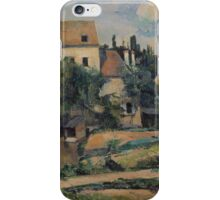 Paul Cezanne - Mill on the Couleuvre at Pontoise 1881 iPhone Case/Skin