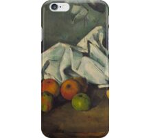 Paul Cezanne - Milk Can and Apples 1879 - 1880 iPhone Case/Skin