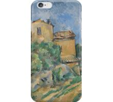 Paul Cezanne - Maison Maria with a View of Chateau Noir  1895 iPhone Case/Skin