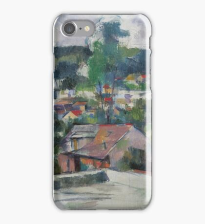 Paul Cezanne - Landscape 1888 - 1890 iPhone Case/Skin