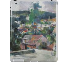 Paul Cezanne - Landscape 1888 - 1890 iPad Case/Skin