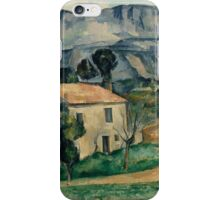 Paul Cezanne - House in Provence 1886-1890 Impressionism  Landscape iPhone Case/Skin