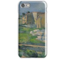 Paul Cezanne - Houses in Provence The Riaux Valley near L Estaque 1883 iPhone Case/Skin