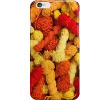 Yarn at the Market iPhone Case/Skin