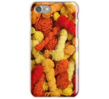 Yarn at the Market iPhone Case/Skin