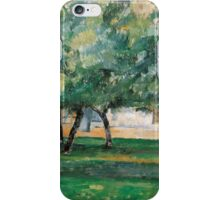 Paul Cezanne - Farm in Normandy,  Impressionism  Still Life iPhone Case/Skin