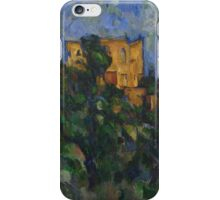 Paul Cezanne - Chateau Noir Impressionism  Still Life iPhone Case/Skin