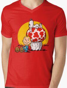 Buddies Mens V-Neck T-Shirt