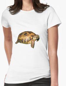 Greek Tortoise Womens Fitted T-Shirt