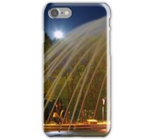Fountain with Moon iPhone Case/Skin