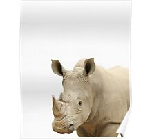 Rhinoceros print, African Safari, Nursery decor, Animal, Kids room, Modern Wall Poster