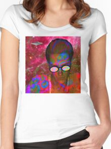 Alien Abduction Women's Fitted Scoop T-Shirt