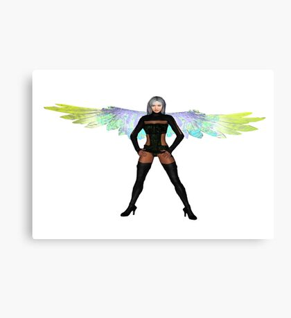 Party Angel 2 Canvas Print