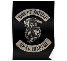 Sons of Anfield - Basel Chapter Poster