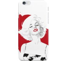 Marilyn Test iPhone Case/Skin