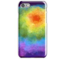 Abstract Rainbow iPhone Case/Skin