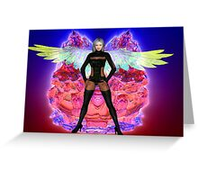 Party Angel Greeting Card