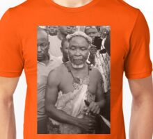 Traditional Chief and Priest in Ghana, West Africa  Unisex T-Shirt