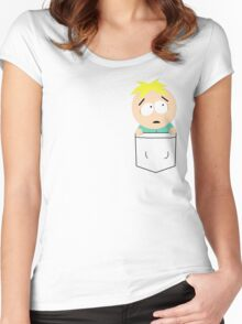 Pocket Butters Women's Fitted Scoop T-Shirt