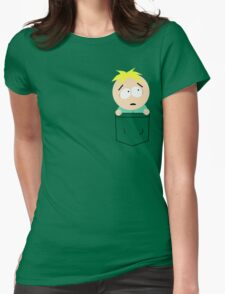 Pocket Butters Womens Fitted T-Shirt