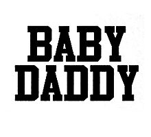 Baby Daddy Photographic Print
