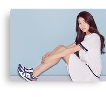 Sowon Sporty Look Canvas Print