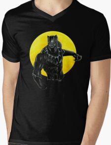 Black panther  Mens V-Neck T-Shirt