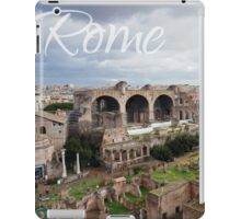 Rome Postcard iPad Case/Skin