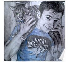 Chris and Brian colfer Poster
