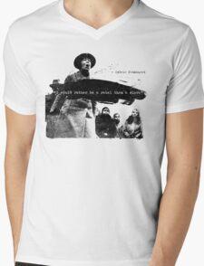 Sylvia Pankhurst - I would rather be a Rebel than a Slave Mens V-Neck T-Shirt
