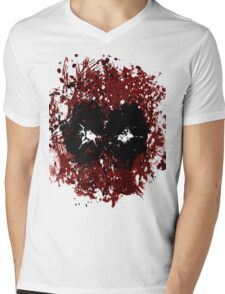 Merc with his mouth missing Mens V-Neck T-Shirt