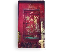 The Red Door Canvas Print