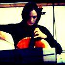 The Cellist by Benedikt Amrhein