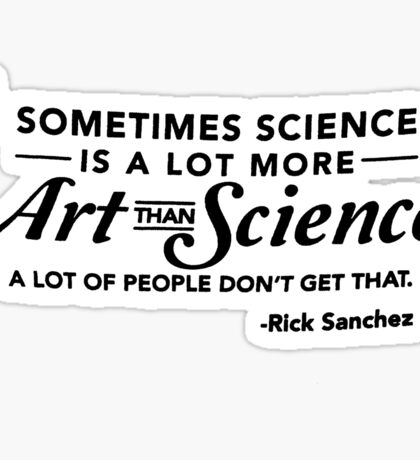 Art & Science Sticker