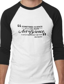 Art & Science Men's Baseball ¾ T-Shirt
