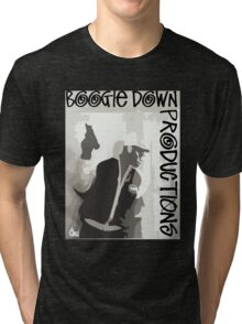 Boogie Down Productions - By all means necessary Tri-blend T-Shirt