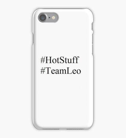 Leo Valdez - #HotStuff #TeamLeo iPhone Case/Skin