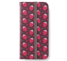 Strawberries and Chocolate iPhone Wallet/Case/Skin