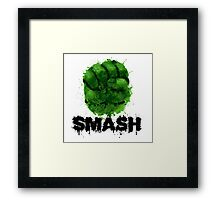 Smash! Framed Print