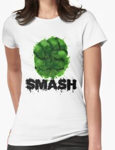 Smash! Womens Fitted T-Shirt