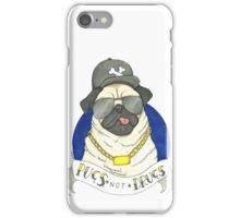 Pugs, Not Drugs  iPhone Case/Skin
