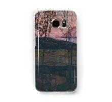 Egon Schiele - Setting Sun 1913  Expressionism Landscape Samsung Galaxy Case/Skin