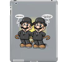 Twin detective iPad Case/Skin