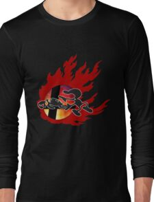 Mr.Game & Watch Long Sleeve T-Shirt