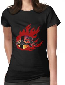 Mr.Game & Watch Womens Fitted T-Shirt