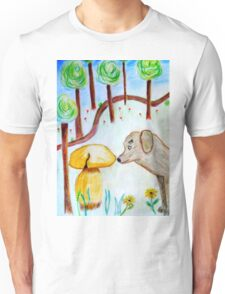 Discovery in the forest Unisex T-Shirt