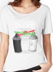 Spray wars Women's Relaxed Fit T-Shirt