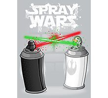Spray wars Photographic Print