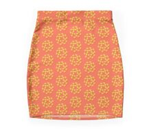 Yellow Rose Mini Skirt