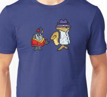 Secret Squirrel & Morocco Mole - Pixel Art Unisex T-Shirt